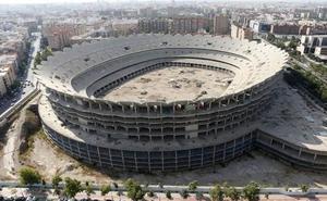 Cuelgan en redes sociales un vídeo desde dentro del Nou Mestalla