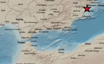 Santa Pola registra esta madrugada dos terremotos de hasta 2,1 grados