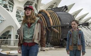 La cadena británica Sky se fija en la Ciudad de las Artes para el rodaje de 'Intergalactic'