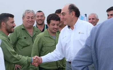 El presidente de Iberdrola visita a los trabajadores de la compañía y agradece el esfuerzo realizado durante la gota fría