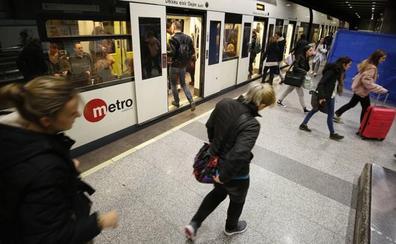 Metro y tranvía gratis el domingo por el Día Sin Coche