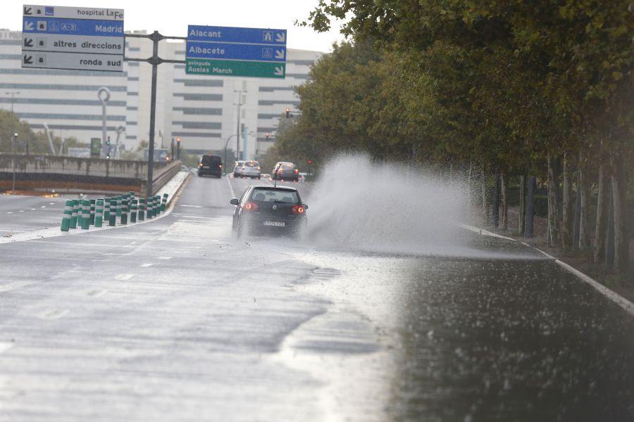 Alerta amarilla en Valencia y Castellón por lluvias y tormentas con granizo hasta el sábado