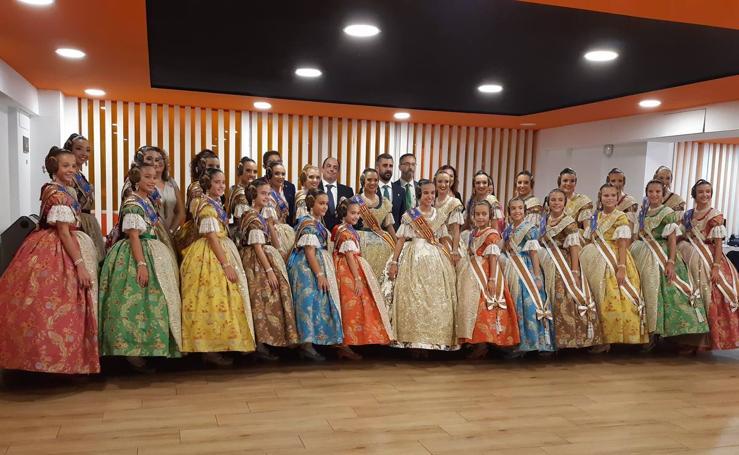 Elección de las Cortes de Honor de las Falleras Mayores de Valencia 2020
