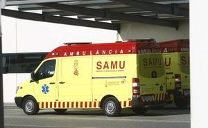 Dos personas resultan heridas en un accidente de tráfico entre tres coches en la V-31