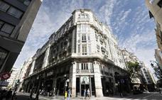 La oferta turística crece en el centro de Valencia con otro hotel en un edificio de 1918