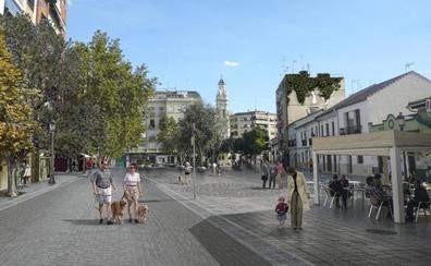 Así quedará el centro histórico de Patraix con su nueva zona peatonal