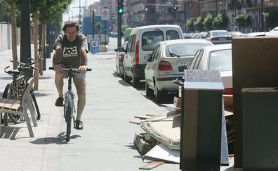 Valencia iniciará en noviembre la construcción de carriles bici en dos grandes avenidas de la ciudad