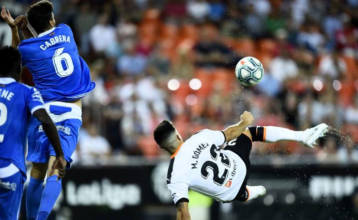 Valencia CF - Getafe de la liga 2019-20, en imágenes