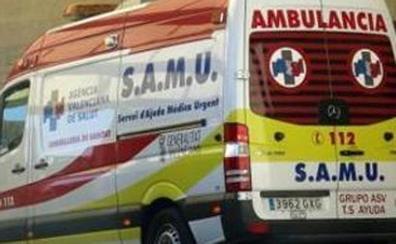 Herido grave al caerle una plancha en una gasolinera de Villena