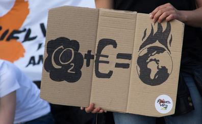 Un paro de 4 minutos 15 segundos: Valencia se suma a la huelga mundial por el clima