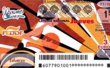 La Lotería Nacional de este jueves toca en Valencia capital