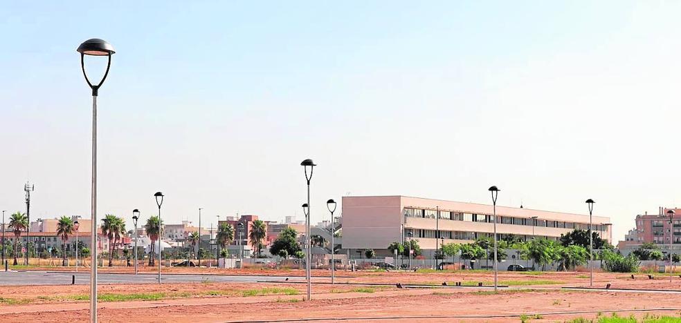 El nuevo parque Benamá de Albal estará acabado antes de que finalice el año