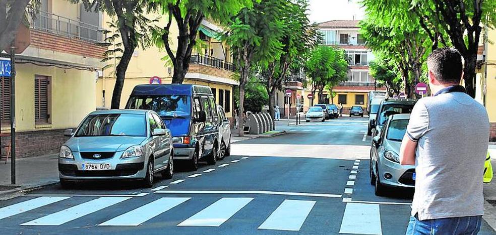 Calles reasfaltadas en los barrios Orba y Alfalares de Alfafar