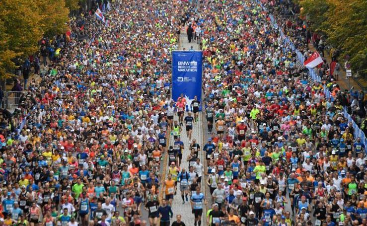 Fotos del Maratón de Berlín