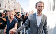 Rotunda victoria de Kurz en Austria