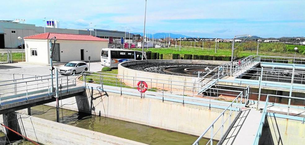 Riba-roja vertió 2,3 millones de m3 de agua depurada en 2018
