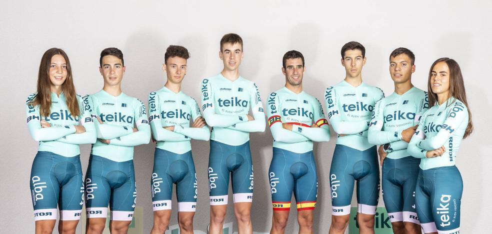 Teika UCI Team celebra su primer campus