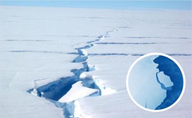 Un gigante de hielo a la deriva