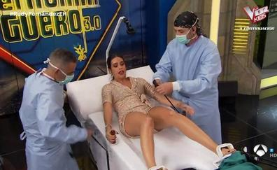 Cristina Pedroche estrena sección en 'El Hormiguero' y le llueven las críticas