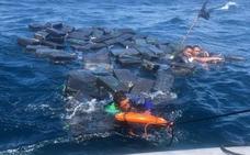 Unos náufragos sobreviven al usar fardos de cocaína a modo de flotadores en Colombia