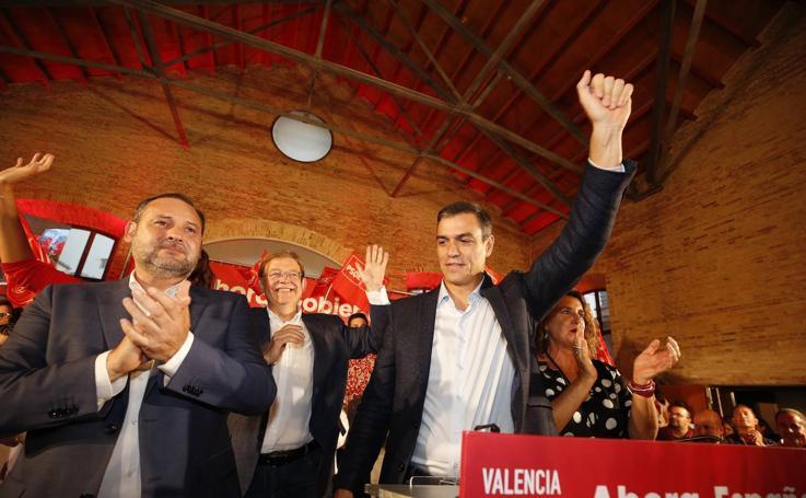 Pedro Sánchez inaugura la precampaña del 10-N en Valencia