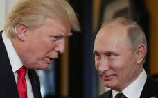 Putin dice que no tiene inconveniente en que se publiquen sus conversaciones con Trump