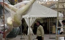 Las Fallas piden montar las carpas desde el día 6 y Cultura Festiva plantea el 13