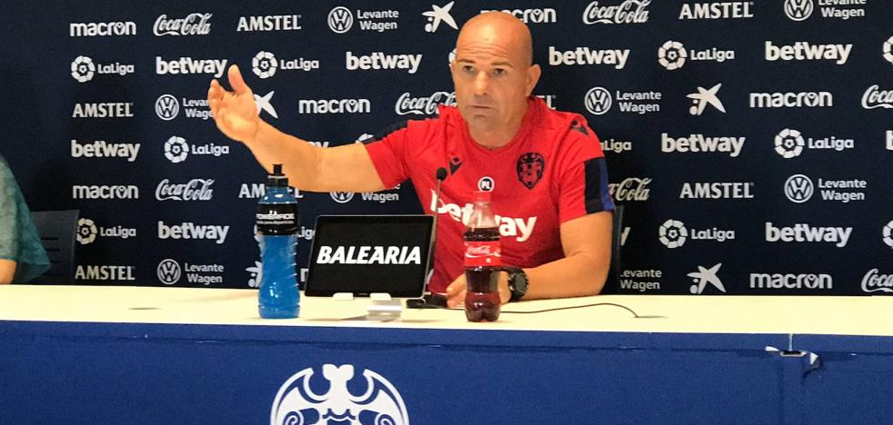 Paco López: «Mi renovación está encaminada, pero ahora mismo es lo menos importante»