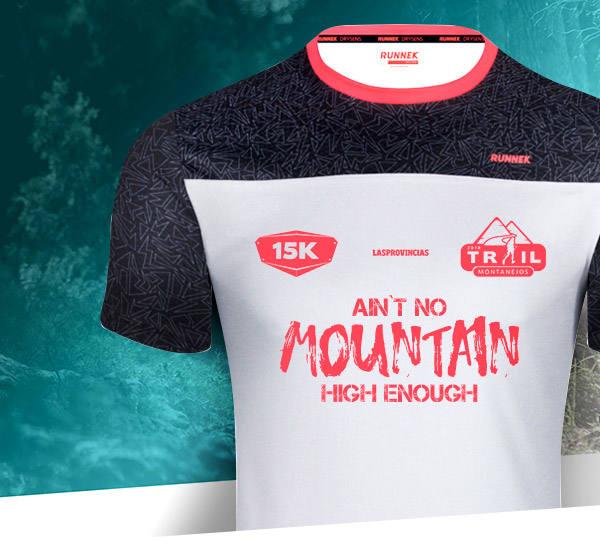 Así es la camiseta oficial del Trail de Montanejos 2019