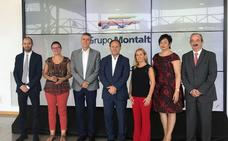 Grupo Montalt recibe al conseller Climent