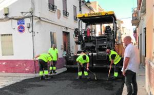 Destinan cerca de 50.000 euros al asfaltado de seis calles