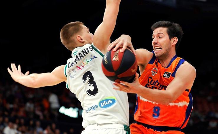 El Valencia Basket-Real Betis, en imágenes