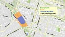 Calles cortadas por los actos del 9 d'Octubre: cómo afecta al tráfico de Valencia