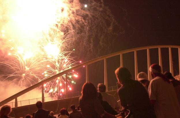 Castillo de fuegos del 9 d'Octubre: horario y desde dónde verlo
