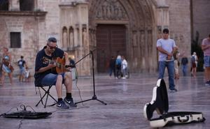 Los músicos que prefieren las calles de Valencia