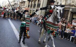 Fiestas de Moros y Cristianos del 9 d'Octubre: horario y recorrido de los desfiles en 2019