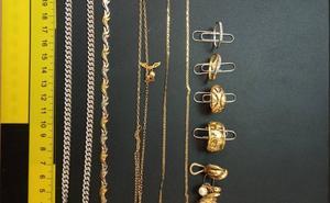 Detenido por robar 6.000 euros en joyas en un domicilio de Paiporta