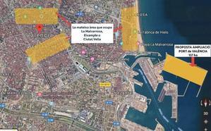 Compromís presiona al PSOE para paralizar la ampliación del Puerto y empezar de cero