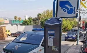La Guardia Civil investiga a 9 empleados de una empresa de control de estacionamiento de Zona Azul de Calp