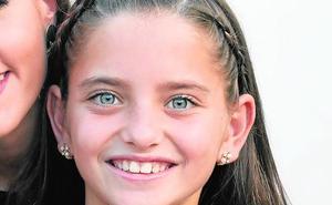 Sara Rivas, corte de honor infantil 2020: «Pase lo que pase ya he llegado hasta aquí»