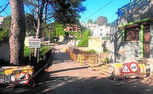 Gandia renueva el puente dañado por el fuego en Montepino y crea uno que resista terremotos