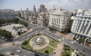 La plaza del Ayuntamiento de Valencia se rediseña casi sin límites