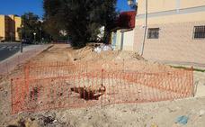 Paralizan unas obras por la aparición de cuevas en una calle de Benimàmet