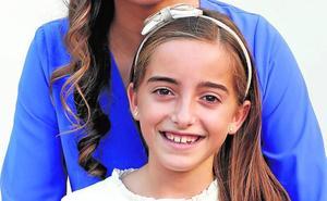 Blanca Chaparro, corte de honor infantil 2020: «Quiero que el año y los actos empiecen»