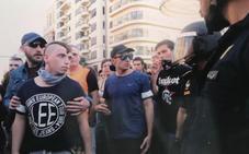 Lazos amarillos y gritos para liberar a los presos en la marcha catalanista