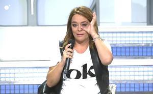Toñi Moreno abandona entre lágrimas y en directo 'MYHYV' al creer que María Teresa Campos había muerto