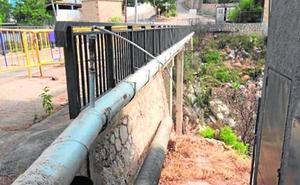 La obra del puente de Montepino obliga a desplazar un radar para prevenir riadas