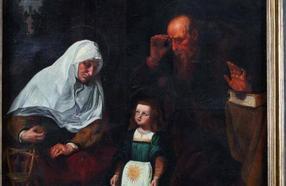 La obra 'La educación de la Virgen' de Francisco Ribalta se vende por 42.000 euros