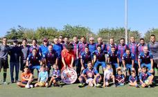La Guardia Civil de Alfafar organiza un partido de fútbol benéfico