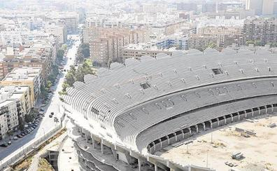 El Valencia quiere reiniciar las obras del nuevo estadio en el primer semestre de 2020